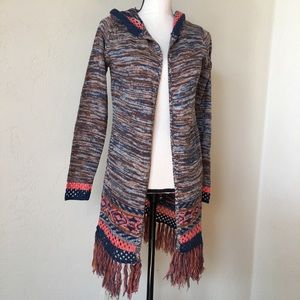 Derek Hart Hooded Cardigan Sweater